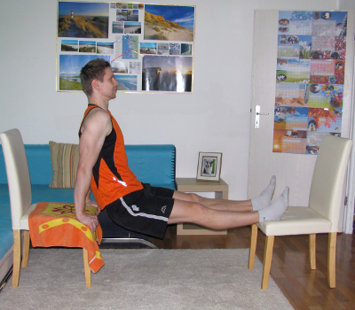 Dips Between Two Chairs Form, Muscles Worked, Benefits