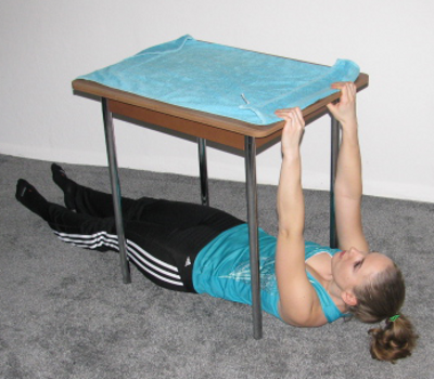 Inverted Table RowInverted Row Muscles
