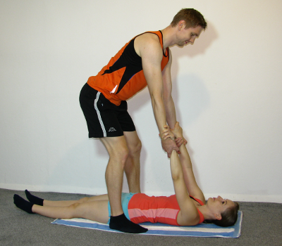 Inverted Row With PartnerInverted Row Muscles