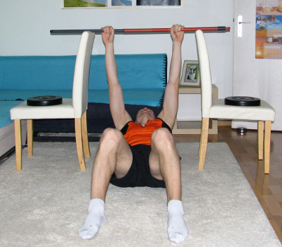 Inverted Row Between Chairs Form Muscles Worked Benefits