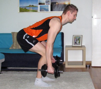 bent over shrug form muscles worked benefits