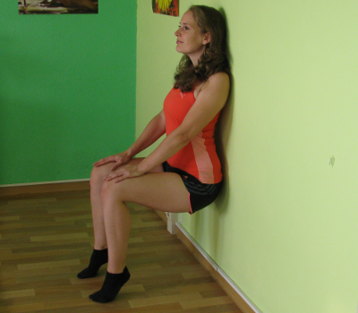 wall sit with calf raise form muscles worked benefits